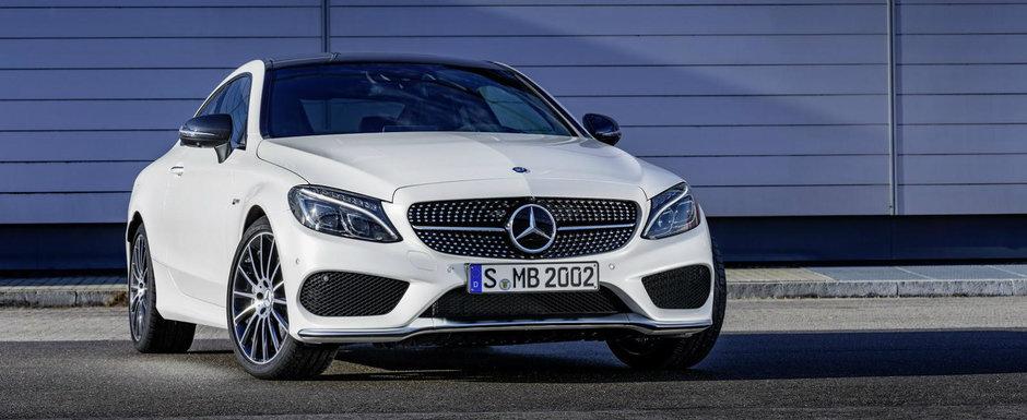 Cu tunurile pe BMW 440i. Mercedes lanseaza C43 AMG, un coupe de trei litri si 367 CP