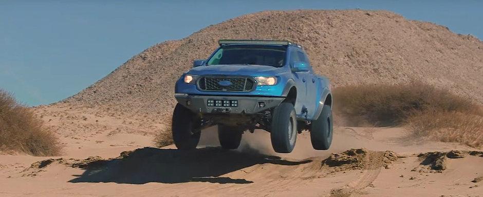 Cu un asemenea pachet de off-road, camioneta de la FORD merge oriunde vrei tu. VIDEO