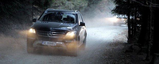 Cu un pas inainte: Noul Mercedes-Benz Clasa M a sosit in Romania