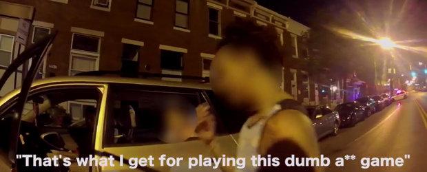 Culmea prostiei: Sa lovesti masina politiei in timp ce joci Pokemon Go la volan
