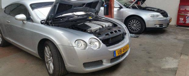 Culmea zgarceniei: Sa pui un motor TDI intr-un Bentley Continental GT
