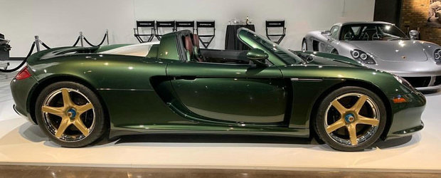 Culoarea exterioara il face sa fie unul dintre cele mai dorite Carrera GT-uri de pe Pamant. Care-i povestea lui