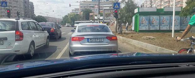 Cum a devenit un roman cu Audi cel mai aplaudat si respectat sofer din Bucuresti