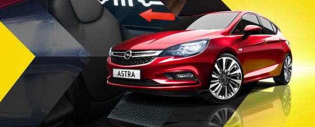 Cum a reusit noul Opel Astra K sa dea jos peste 120 de kilograme