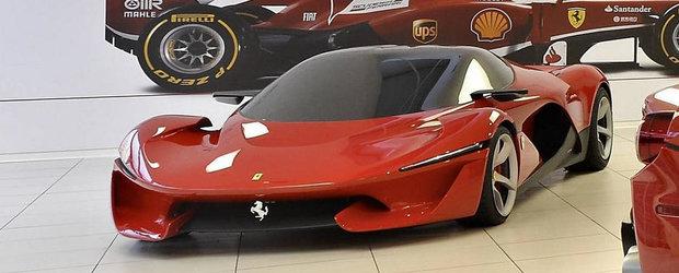 Cum ar fi putut arata noul LaFerrari, succesorul legendarului Enzo Ferrari