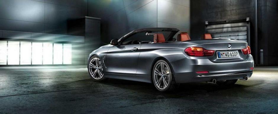 Cum ar putea arata noul BMW Seria 4 Convertible