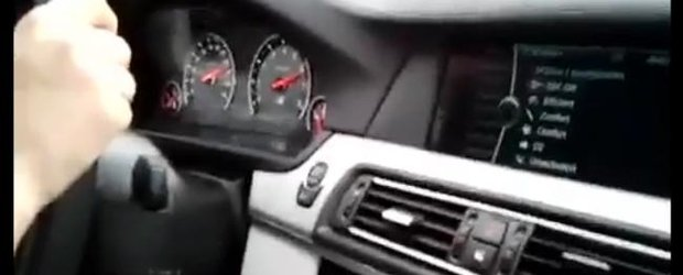 Cum arata 300 km/h in noul BMW M5 de 560 cp?