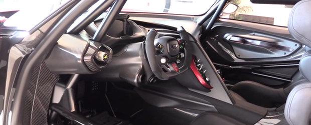 Cum arata de aproape Aston Martin Vulcan, masina de curse de 2.3 milioane $