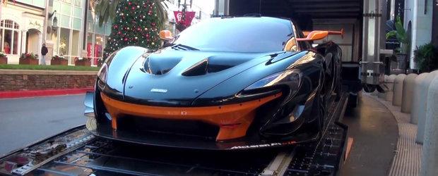 Cum arata de aproape McLaren P1 GTR, masina de 3 milioane dolari