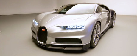 Cum arata de aproape noul Bugatti Chiron, masina de 1500 CP si 2.4 milioane euro