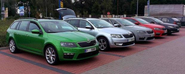 Cum arata 'in realitate' noua Skoda Octavia RS