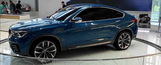 Cum arata 'in realitate' noul BMW X4 Concept