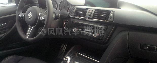 Cum arata interiorul noului BMW M3