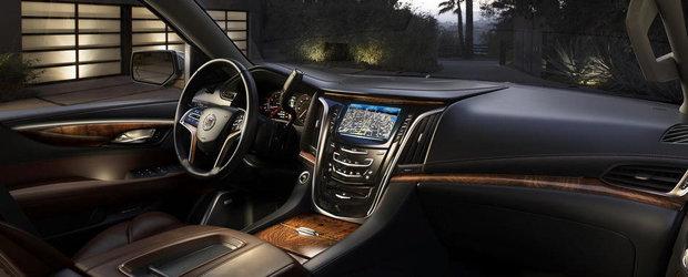 Cum arata interiorul noului Cadillac Escalade