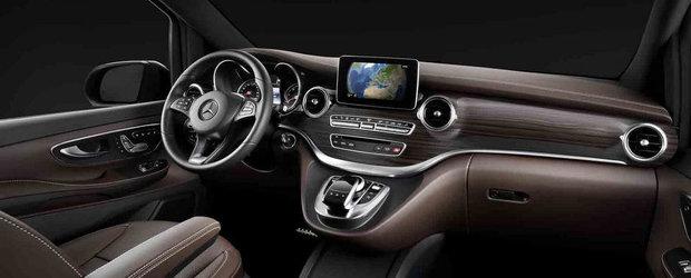 Cum arata interiorul noului Mercedes V-Class, inlocuitorul lui Viano