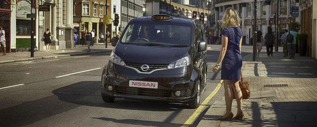 Cum arata Nissan NV200, noua masina destinata taximetristilor din Londra