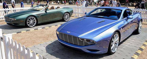 Cum arata noile Aston Martin DB9 si DBS de la Zagato