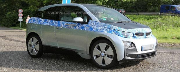 Cum arata noul BMW i3, modelul electric al bavarezilor