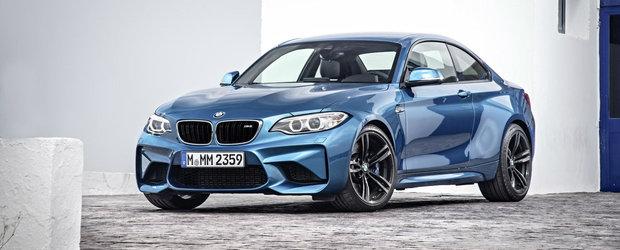 Cum arata noul BMW M2 Coupe. GALERIE FOTO in ARTICOL.