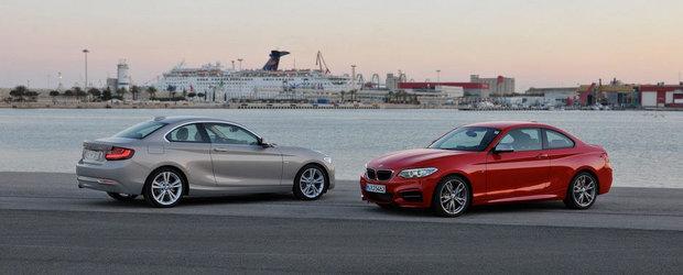 Cum arata noul BMW Seria 2 Coupe. GALERIE FOTO si VIDEO in articol.