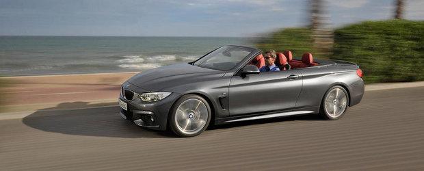 Cum arata noul BMW Seria 4 Convertible. GALERIE FOTO in articol.