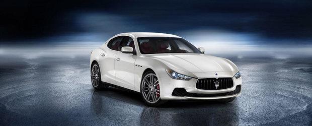 Cum arata noul Ghibli, cel de-al doilea sedan din gama Maserati