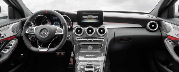 Cum arata noul Mercedes C63 AMG. GALERIE FOTO si VIDEO in articol