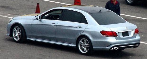 Cum arata noul Mercedes E-Class in versiunea cu ampatament marit