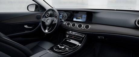 Cum arata noul Mercedes E-Class in versiunea de baza. PLUS lista de preturi