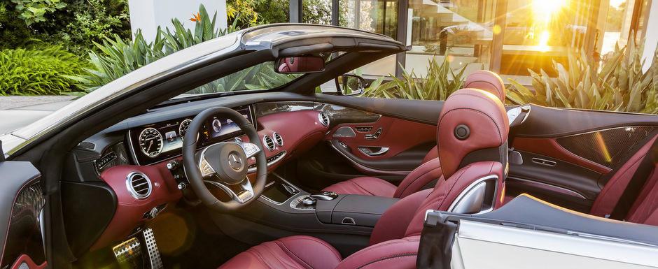 Cum arata noul Mercedes S-Class Cabriolet. GALERIE FOTO si VIDEO in ARTICOL.