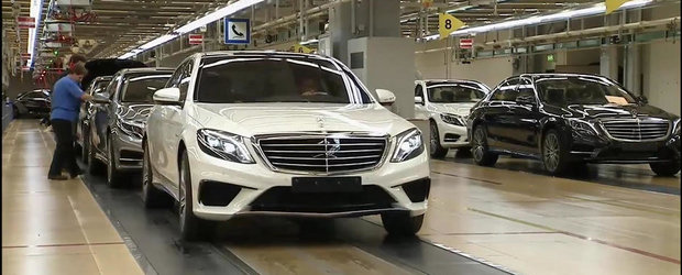 Cum arata noul Mercedes S63 AMG