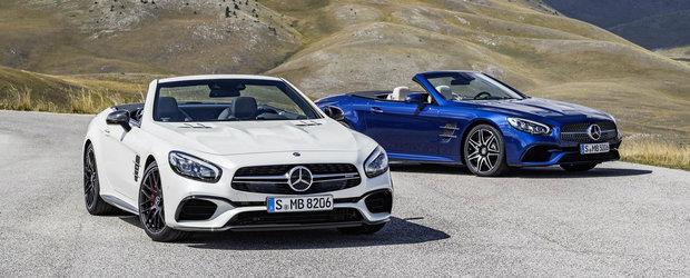 Cum arata noul Mercedes SL. GALERIE FOTO in ARTICOL.