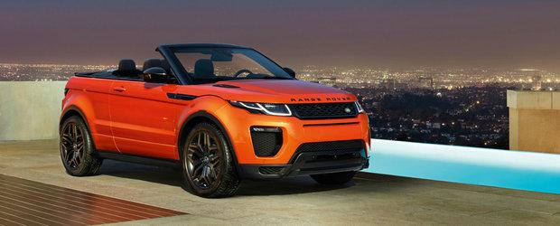 Cum arata noul Range Rover Evoque Convertible. GALERIE FOTO si VIDEO in ARTICOL.