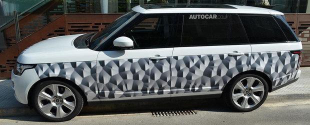 Cum arata noul Range Rover LWB, limuzina SUV de peste 5 metri lungime