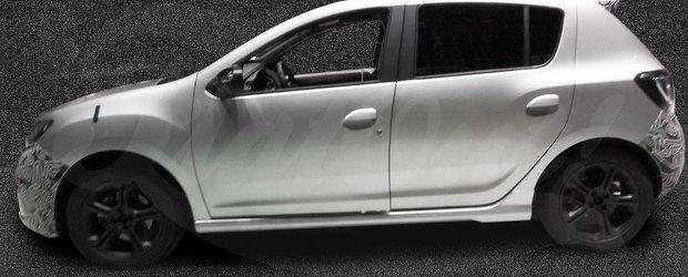 Cum arata noul Sandero RS. Cele mai clare IMAGINI de pana acum
