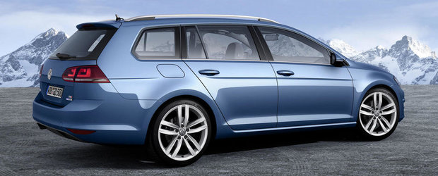 Cum arata noul Volkswagen Golf Variant