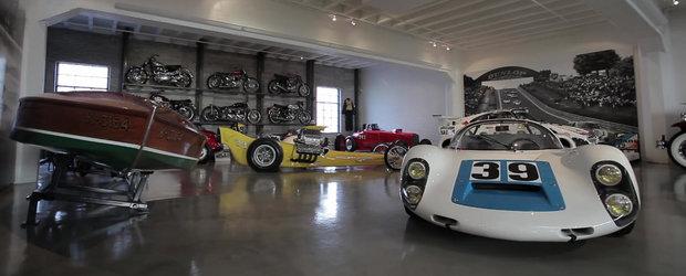Cum arata o colectie de masini din casa unui pasionat adevarat de 75 de ani