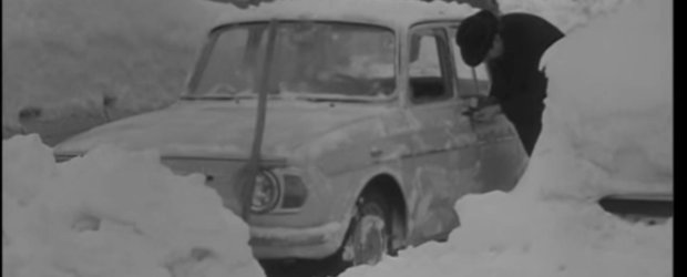 Cum arata o iarna crunta in Bucuresti, acum o jumatate de secol