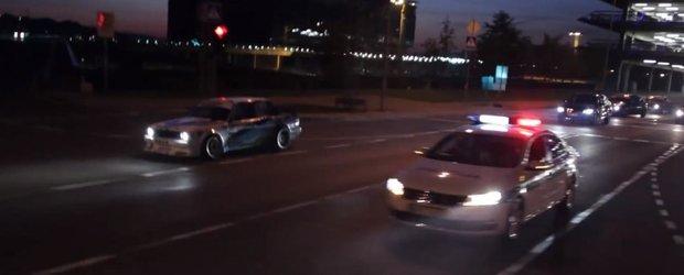 Cum arata o iesire cu masinile pe Magheru sambata seara ;)