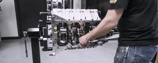 Cum arata refacerea unui motor de 11.000 cp care are nevoie de 800 cp doar ca sa invarta compresorul
