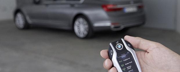 Cum arata si ce functii ofera 'cheia' noului BMW Seria 7