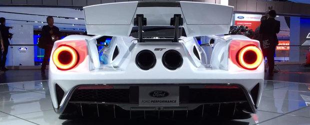 Cum arata si cum functioneaza eleronul activ din dotarea noului Ford GT