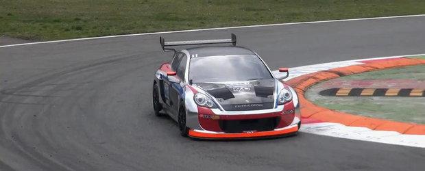 Cum arata si cum se aude noul Porsche Panamera de curse