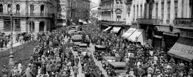 Cum arata traficul Bucurestiului in anul 1938