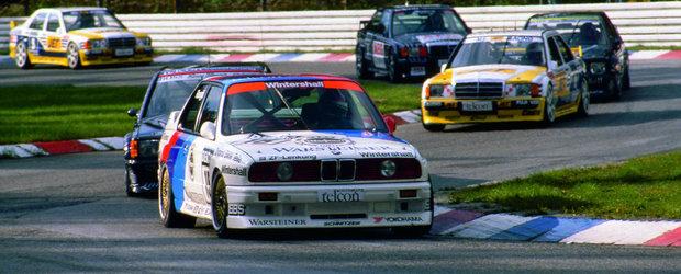 Cum aratau cursele in DTM in 1993: video in slow-motion