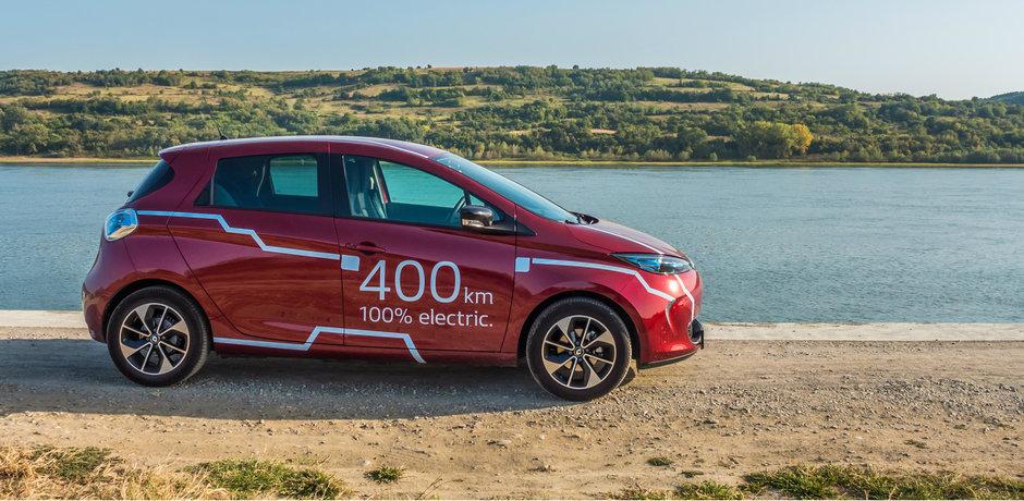 Cum e viata alaturi de un Renault electric cu care poti merge 400 de kilometri fara oprire?