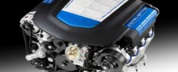 Cum este construit motorul lui Corvette ZR1