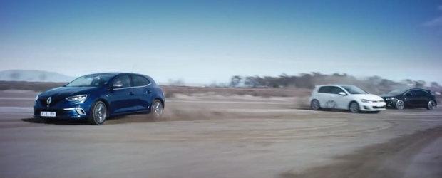 Cum face Renault misto de Opel, Ford si Volkswagen in noua reclama la Megane