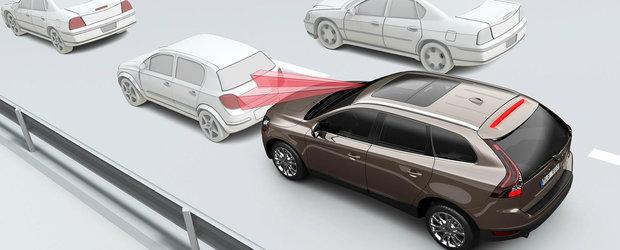 Cum functioneaza sistemul care iti face masina sa franeze singura in caz de impact?