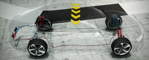 Cum functioneaza suspensia noului Audi RS7 Sportback